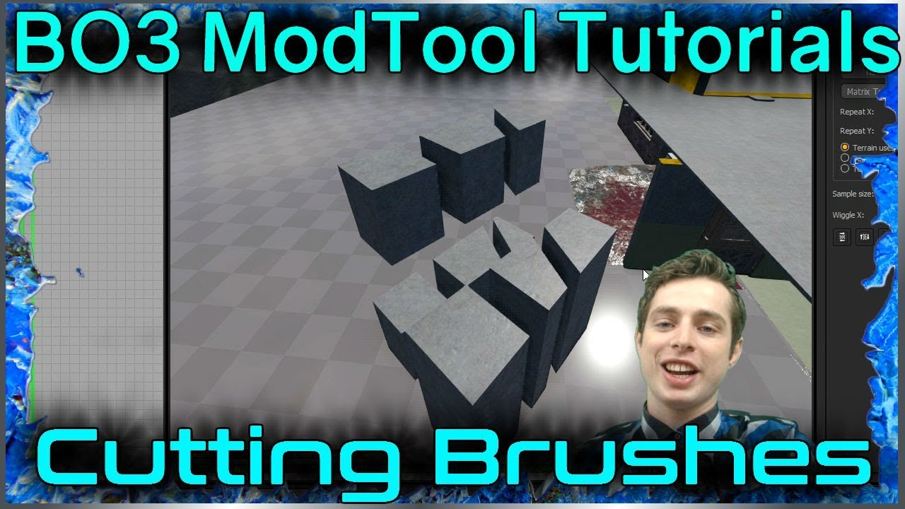 Cutting Brushes Tutorial: Call of Duty Black Ops 3 Mod Tools