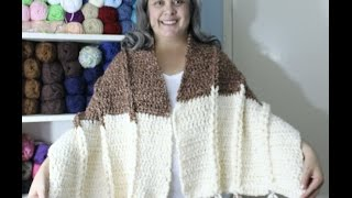 Learn to Crochet - Jacobs Ladder shawl