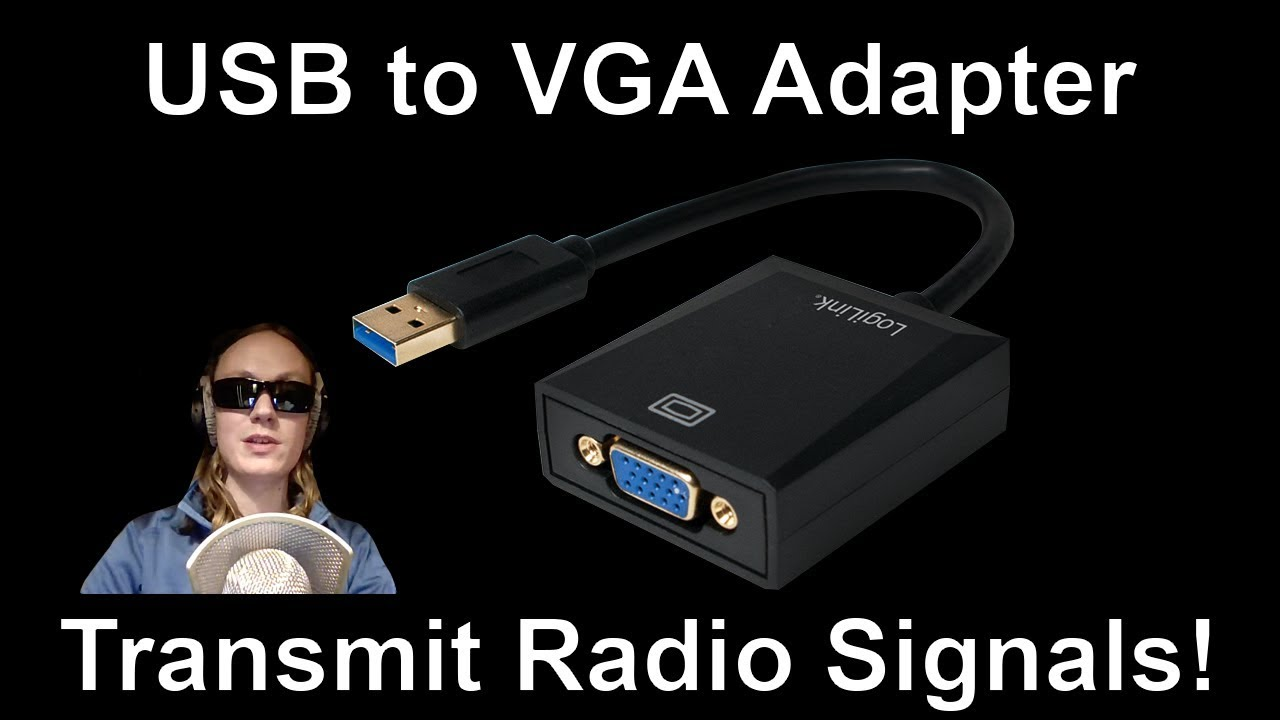 USB to VGA Adapter - Transmit Radio Signals! (FL2000 / FL2K) [News]