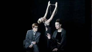 New York Live Arts -Richard Move and MoveOpolis! Richard Move as Martha Graham with Lisa Kron and...