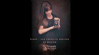 Shooting photo de Marion - Les produits dérivés de Marion.