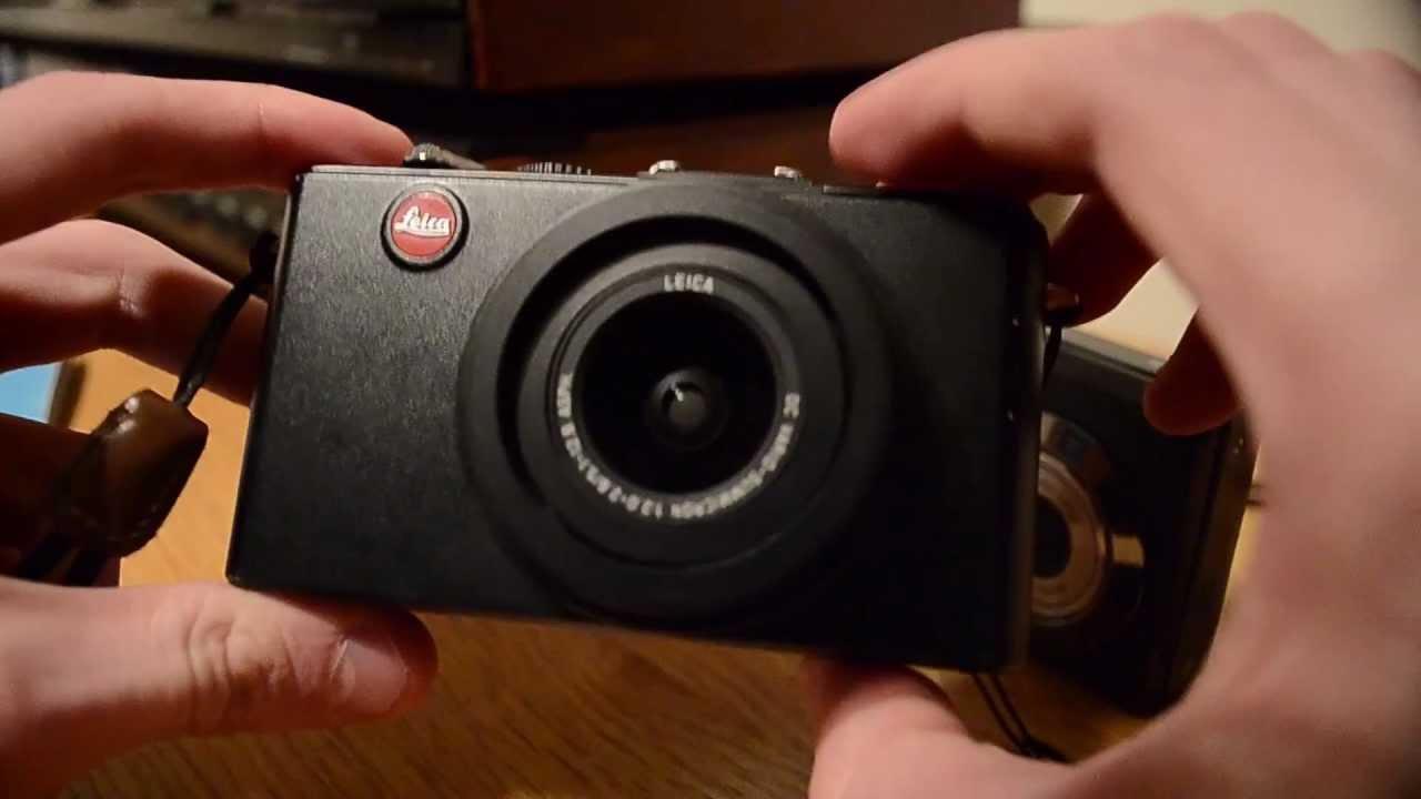 Leica d-lux 4 digital camera (black) 18352 b&h photo video.