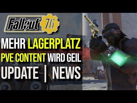Wir bekommen mehr Lagerplatz | PvE wird Geil | UPDATE NEWS | Fallout 76 thumbnail