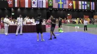 第二屆世界詠春拳錦標賽 — 黐手技術展示 Chiu vs Densis