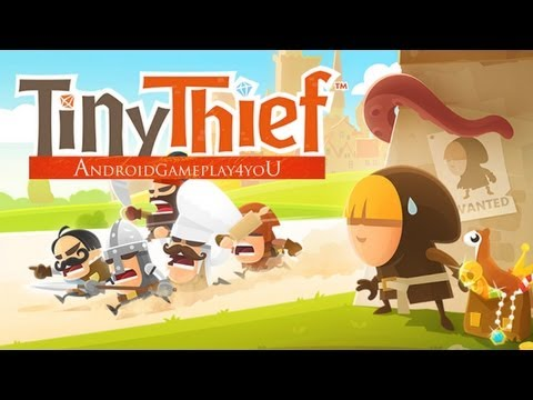 Tiny Thief Android Gameplay [Game For Kids]