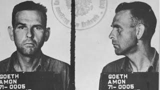 Амон Гет - фашист, директор лагеря в Плашове.