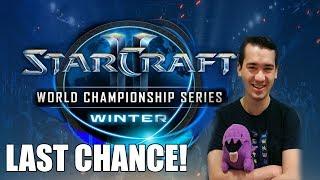 Starcraft 2 - WCS WINTER 2019 Final Americas Qualifier!