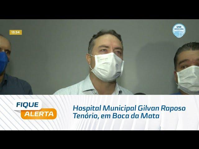 Hospital Municipal Gilvan Raposo Tenório, em Boca da Mata é reinaugurado