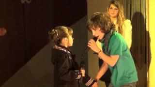 """Léo Rispal et Marie : Parler à mon père - Spectacle """"Hip hippies hourra"""" - avril 2013"""