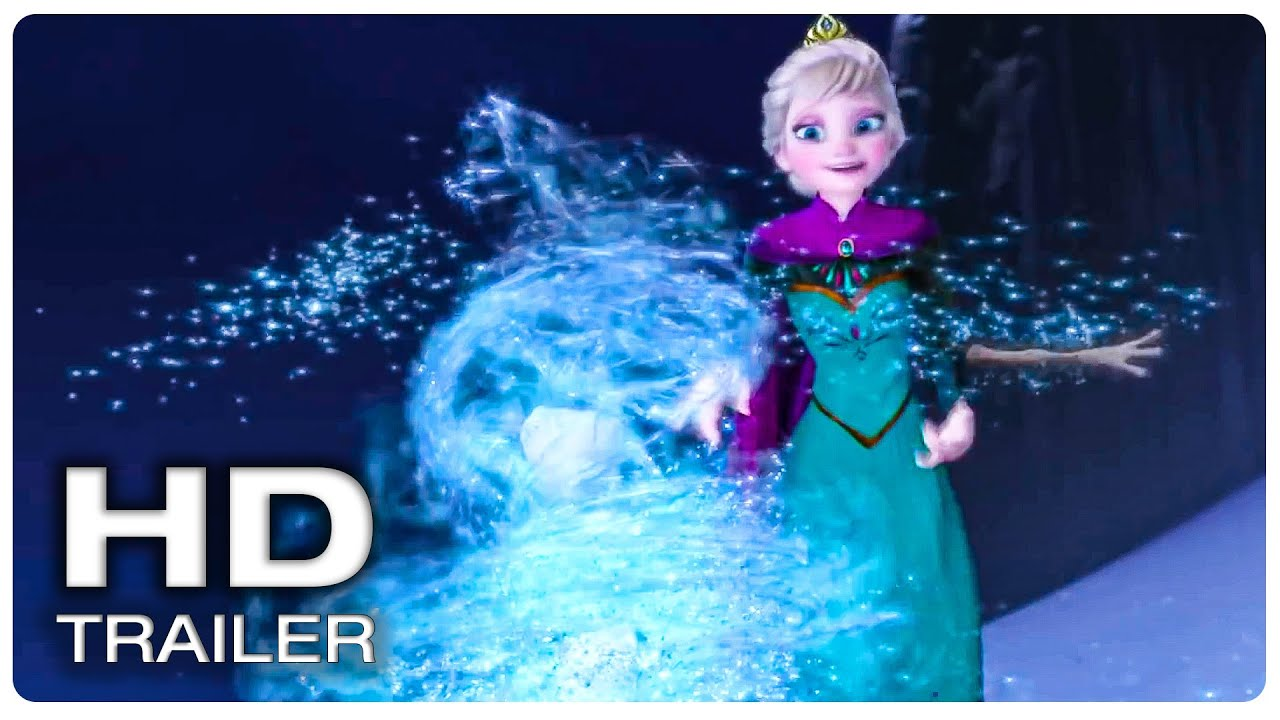 Elsa Creating Olaf Scene - Olaf Birth Scene  ONCE UPON A SNOWMAN (NEW 2020) Movie CLIP HD