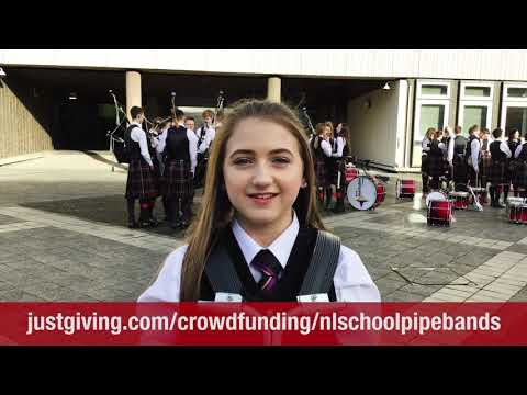 North Lanarkshire Pipe Bands New York Appeal