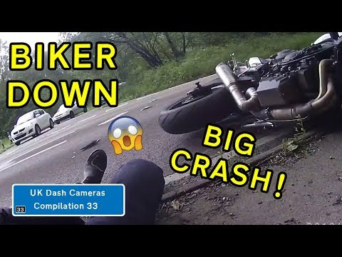 UK Dash Cameras - Compilation 33 - 2019 Bad Drivers, Crashes + Close Calls