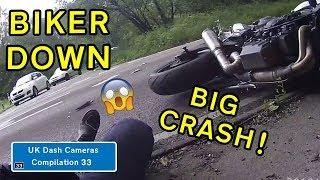 UK Dash Cameras   Compilation 33   2019 Bad Drivers Crashes  Close Calls