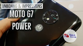 Unboxing & impressions - Moto G7 Power [4GB/64GB] !