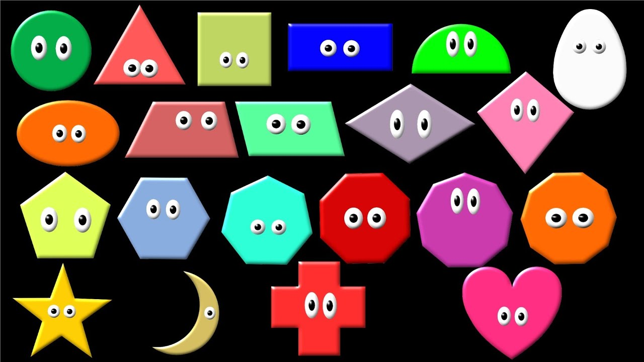 worksheet Learning Shapes what shape is it learn geometric shapes the kids picture show fun educational youtube