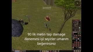 ALAYINAKIRAN 90 Metin Taşı Damage Rokoru