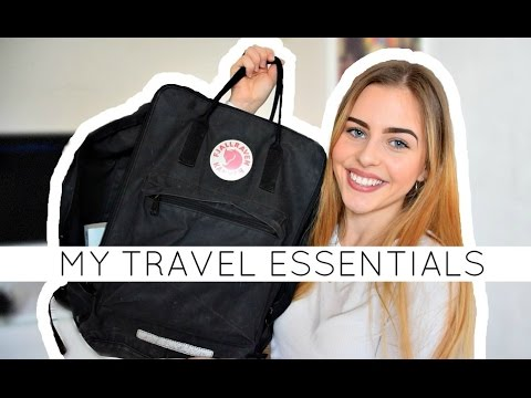 Travel essentials | What's in my carry-on bag?