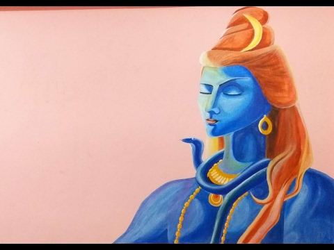 Wall Painting of Lord Shiva