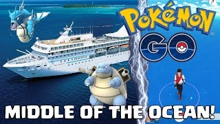 Baixar - Catching Pokemon In The Middle Of The Ocean Pokemon Go Grátis