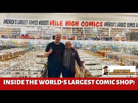 Mile High Comics: Inside the WORLD'S LARGEST (10 MILLION COMICS!) Comic Book Shop!