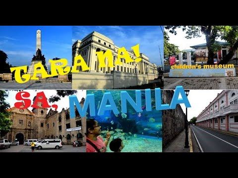 MANILA Famous Tourist Attractions - Philippines 2020