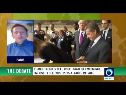 Joe Quinn on PressTV 'Debate' French presidential elections