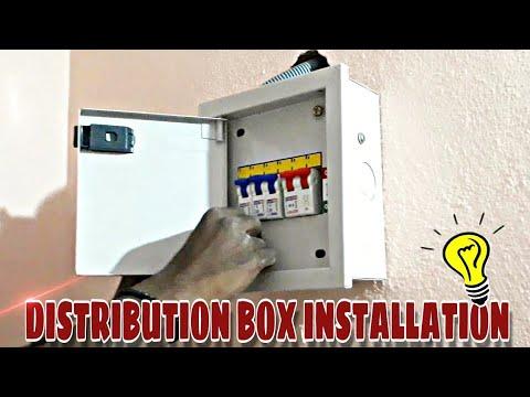 Upstair Distribution Box Wiring Diagram on