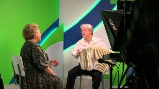 Валерий Сёмин и Надежда Крыгина. Съёмка на
