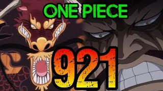 "One Piece Chapter 921 Review ""The Invincible Beast"""