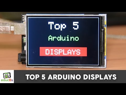 Top 5 Arduino Displays