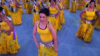 BELLYSMA 2018 | Raga Evolution | 160 Belly Dancers | Largest Flashmob | DanceAtStepz