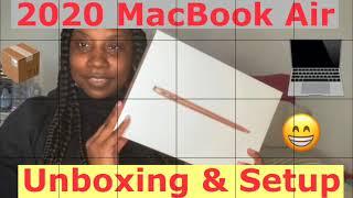 2020 MacBook Air Unboxing & Setup