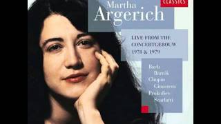 Alberto Ginastera,  Danzas argentinas Op.2 - 2. Danza de la moza donosa, Martha Argerich
