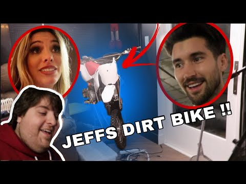 BEST FRIEND SURPRISED ME WITH A DIRT BIKE!!