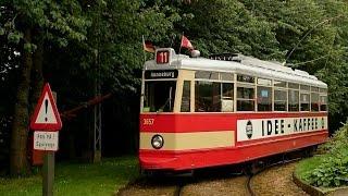Straßenbahn Hamburger Hochbahn V6E   3657  Mitfahrt