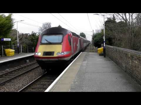 Virgin Trains East Coast Class 43 HST Passing Through Meldreth (05/2/17)