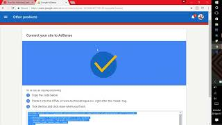 How To Add Google Adsense Verification code On Blogger