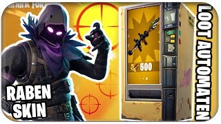 RAVEN SKIN RELEASE DATE, LOOT AUTOMATA AND NEW SHOT SYSTEM | Fortnite German German