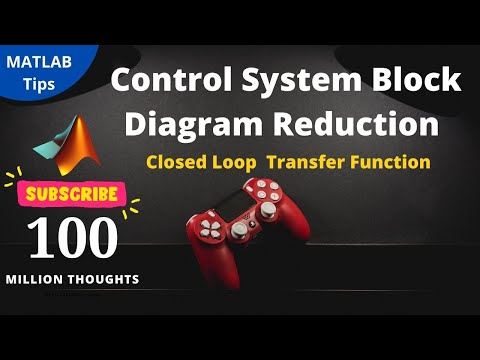 control system block diagram reduction techniques using matlab (closed loop  tf)
