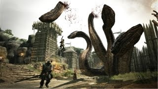 Hydra Fight - Dragon's Dogma Gameplay