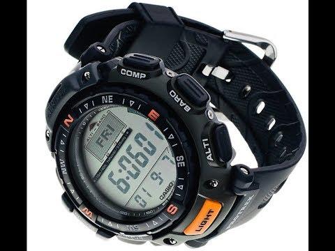 Шпильки и браслет для  Casio Pro Trek PRG 40   240  С Ебея