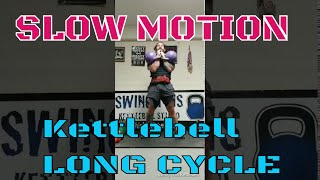 Kettlebell Long Cycle Timing  with Slow Motion