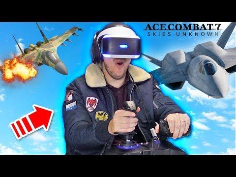 HO PILOTATO UN AEREO!! *INCREDIBILE* - IL MIGLIOR GIOCO PER VR! - Ace Combat 7 ITA (PlayStation VR)