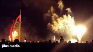 BURJ KHALIFA NEW YEAR FIREWORKS BURJ AL ARAB ATLANTIS THE PALM DUBAI DUBAI FRAME 2020