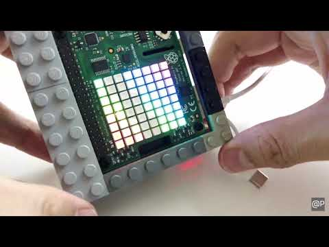 LEGO case for Raspberry Pi 3 Model B+ with Sense HAT