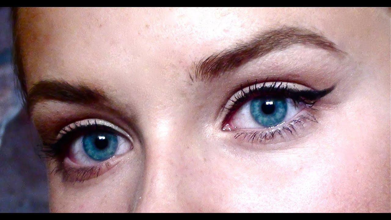 Tutorial - Winged Eyeliner ♡ Flirty, simple and dramatic ...