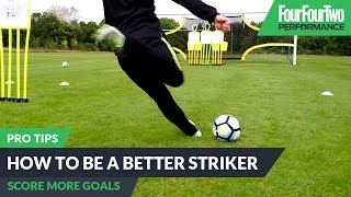 Video How to play as a striker | Pro soccer tips download MP3, 3GP, MP4, WEBM, AVI, FLV Januari 2018