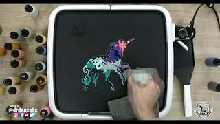 Unicorn (Mutli-Colored) Pancake Art 🦄🥞