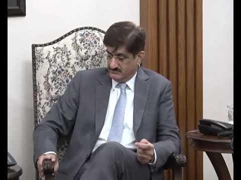 وزیراعلیٰ سندھ سید مراد علی شاہ سے متحدہ عرب امارت کے سفیر مسٹر حماد عبیدالزابی، م