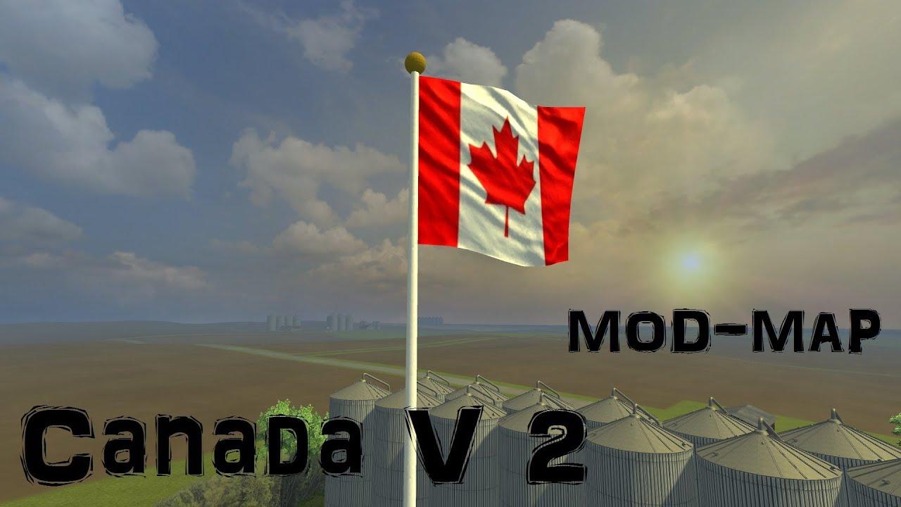 Usa Canada End v Mod-Map Map Maker Provides